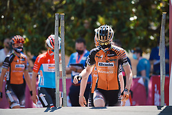 Anna van der Breggen (NED) at Strade Bianche - Elite Women 2020, a 136 km road race starting and finishing in Siena, Italy on August 1, 2020. Photo by Sean Robinson/velofocus.com
