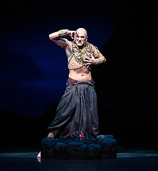 La Bayadere <br /> A ballet in three acts <br /> Choreography by Natalia Makarova <br /> After Marius Petipa <br /> The Royal Ballet <br /> At The Royal Opera House, Covent Garden, London, Great Britain <br /> General Rehearsal <br /> 30th October 2018 <br /> <br /> STRICT EMBARGO ON PICTURES UNTIL 2230HRS ON THURSDAY 1ST NOVEMBER 2018 <br /> <br /> <br /> <br /> Gary Avis as The High Brahmin <br /> <br /> Photograph by Elliott Franks Royal Ballet's Live Cinema Season - La Bayadere is being screened in cinemas around the world on Tuesday 13th November 2018 <br /> --------------------------------------------------------------------