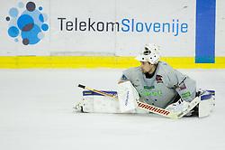 Gasper Kroselj during practice session of Slovenian National Ice Hockey Team prior to the IIHF World Championship in Ostrava (CZE), on April 21, 2015 in Hala Tivoli, Ljubljana, Slovenia. Photo by Vid Ponikvar / Sportida