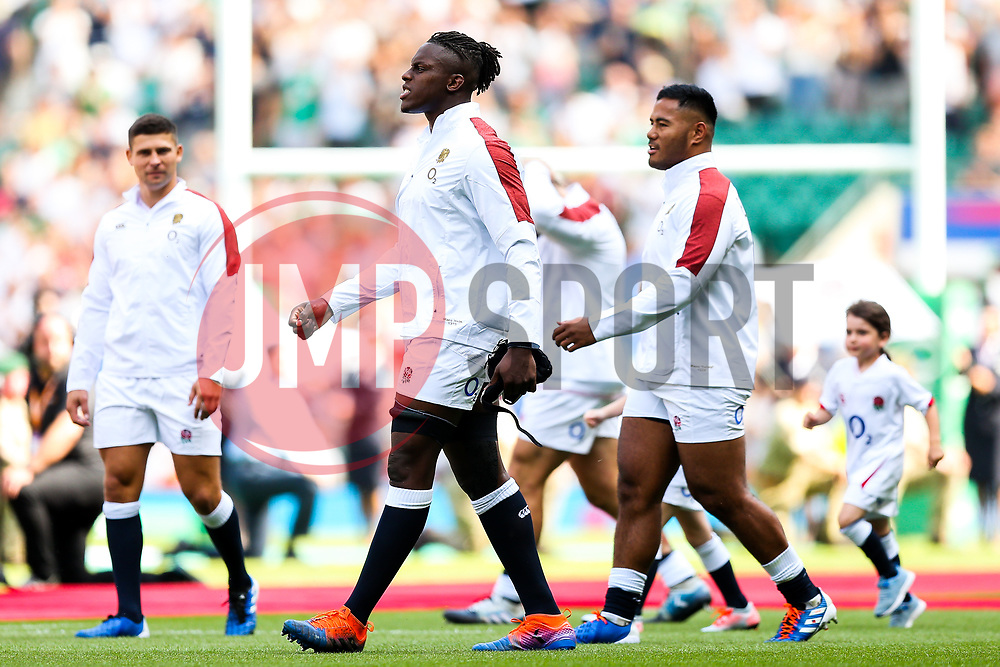 Maro Itoje of England - Rogan/JMP - 24/08/2019 - RUGBY UNION - Twickenham Stadium - London, England - England v Ireland - Quilter Series.