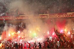 Torcida colorada no estádio beira Rio. FOTO: Jefferson Bernardes/Preview.com