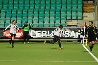 Fotball , 7. okt 2012, Tippeligaen Eliteserien , Sogndal - Lillestrøm<br /> Ørjan Hopen, Malick Mane Sogndal<br /> Foto: Christian Blom , Digitalsport
