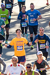 04-11-2018 USA: 2018 TCS NYC Marathon, New York<br /> Race day  TCS New York City Marathon / Roel