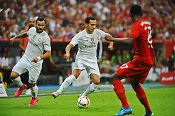 05.08.2015, Allianz Arena, Muenchen, GER, AUDI CUP, FC Bayern Muenchen vs Real Madrid, im Bild Bildmitte Lucas Vazquez (Real Madrid) // during the 2015 Audi Cup Match between FC Bayern Munich and Real Madrid at the Allianz Arena in Muenchen, Germany on 2015/08/05. EXPA Pictures © 2015, PhotoCredit: EXPA/ Eibner-Pressefoto/ Stuetzle<br /> <br /> *****ATTENTION - OUT of GER*****