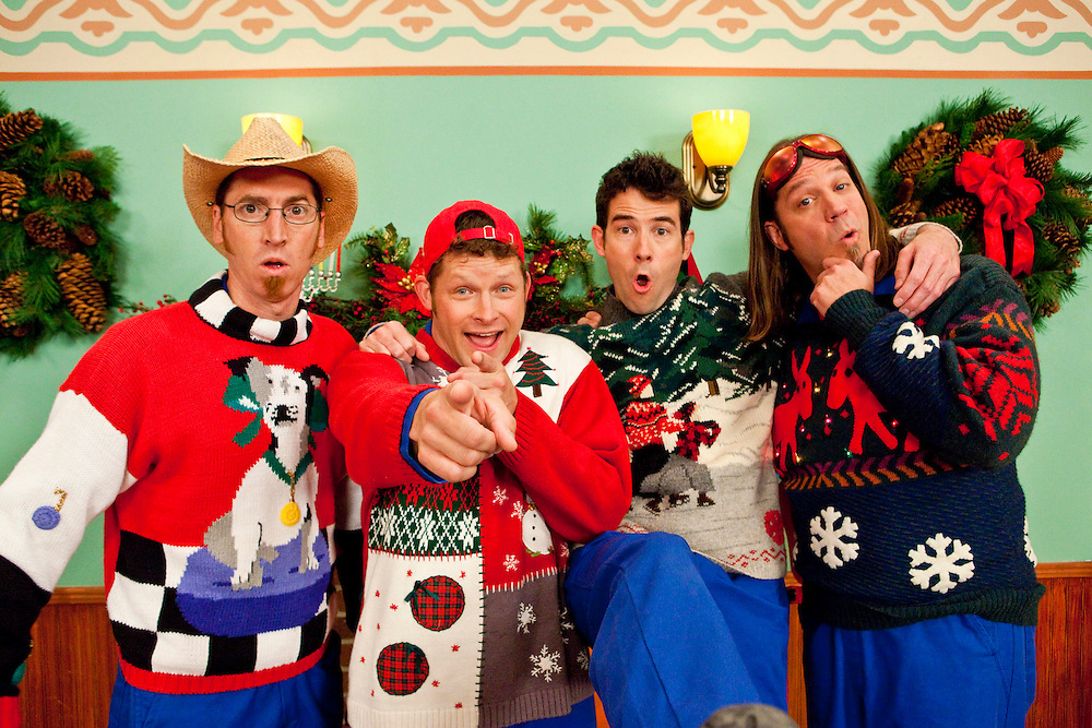 Disney Channel's 'The Imagination Movers ' in the episode 'Happy Ha-Ha-Holidays.'