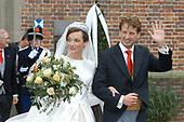 Kerkelijk huwelijk Prins Floris en Aimée Söhngen