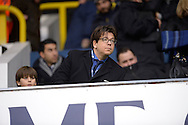 Comedian Michael McIntyre looks on before k/o. Barclays Premier league match, Tottenham Hotspur v West Ham Utd at White Hart Lane in London on Sunday 22nd November 2015.<br /> pic by John Patrick Fletcher, Andrew Orchard sports photography.