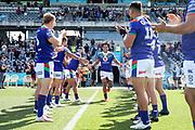 Adam Blair runs out to a guard of honour. Vodafone Warriors v Manly Sea Eagles. NRL Rugby League, Central Coast Stadium, Gosford, NSW, Australia, Sunday 27th September 2020 Copyright Photo: David Neilson / www.photosport.nz