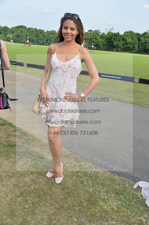 VISCOUNTESS WEYMOUTH at the Laureus Polo held at Ham Polo Club, Ham, Richmond, Surrey on 18th June 2015.