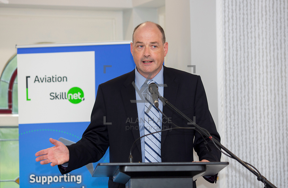 24.05.2018.       <br /> The Limerick Institute of Technology with Atlantic Air Adventures and funding from the Aviation Skillnet presented over forty certificates to Aviation professionals who have completed the Certificate in Aviation, The Aircraft Records Technician Level 7 and Part 21 Design, Level 7.<br /> <br /> Pictured at the event was Anton Tams, GECAS.<br /> <br /> LIT in partnership with Atlantic Air Adventures, CAE Parc Aviation, Part 21 Design and industry experts such as Anton Tams, GECAS, Don Salmon, CAE Parc Aviation and Mick Malone, Part 21 Design have developed and deliver these key training programmes with funding for aviation companies provided by The Aviation Skillnet.<br /> <br /> . Picture: Alan Place