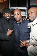 """Bow Legged Lou and Harve Pierre and Paul Anthony at """" The P. Diddy presents Bad Boy Entertainment Night """" at Spotlight NYC featuring performances by Cherri Dennis and Vanity Kane on January 29, 2008"""
