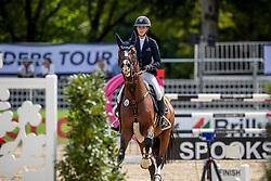 TEBBEL Justine (GER), Light Star 4<br /> Münster - Turnier der Sieger 2019<br /> Preis des EINRICHTUNGSHAUS OSTERMANN, WITTEN<br /> CSI4* - Int. Jumping competition  (1.45 m) - <br /> 1. Qualifikation Mittlere Tour<br /> Medium Tour<br /> 02. August 2019<br /> © www.sportfotos-lafrentz.de/Stefan Lafrentz