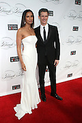 """December 6, 2012- New York, NY: (L-R) Author/Actress/Model Padma Lakshmi and Peter Twyman, CEO, Keep A Child Alive Foundation .attends the ' Keep A Child Alive Black Ball """" Redux """" 2012 ' held at the Apollo Theater on December 6, 2012 in Harlem, New York City. The Benefit pays homage to Oprah Winfrey, Angelique Kidjo for their philanthropic contributions in Africa and worldwide and celebrates the power of woman and the promise of an AIDS-free Africa. (Terrence Jennings)"""