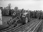 Queen of the Plough contest at the National Ploughing Championship, Kilkenny. 29/01/1959 .<br /> A920-6498