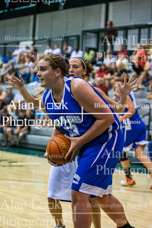 20 June 2009: Katelyn Wise.  Illinois Basketball Coaches Association 1A-2A Girls All Star game.