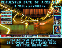 """APRIL 17th:  """"Ride on Time"""""""