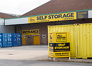 AllBoxed self storage company, Porte Marsh Industrial Estate, Calne, Wiltshire, England, UK