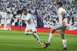 January 10, 2018 - Madrid, Madrid, Spain - Theo Hernandez (defender; Real Madrid), Dani Ceballos (midfielder; Real Madrid) during Copa del Rey match between Real Madrid and Numancia, Round 8 match, at Santiago Bernabeu on January 10, 2018 in Madrid (Credit Image: © Jack Abuin via ZUMA Wire)