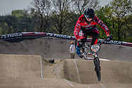 #921 (HARMSEN Joris) NED at the 2016 UCI BMX Supercross World Cup in Papendal, The Netherlands.