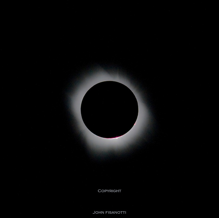Total Solar Eclipse on July 11, 201 from the South Pacific