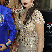 London,England,UK : 8th April 2016 : A host of celebrities and Vips guest attend the The Asian Awards 2016 at Grosvenor House Hotel, Park Lane, London. Photo by See Li