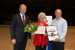 Hanse JL - Rohe fokker van Valegro<br /> KWPN Hengstenkeuring - 's Hertogenbosch 2012<br /> © Dirk Caremans
