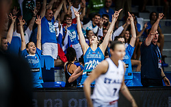 Eva Lisec of Slovenia reacts during basketball match between Women National teams of Italy and Slovenia in Group phase of Women's Eurobasket 2019, on June 30, 2019 in Sports Center Cair, Nis, Serbia. Photo by Vid Ponikvar / Sportida