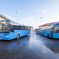 Rutebilstasjonen i Kristiansand.