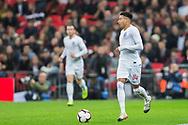 Jesse Lingard (England) during the international Friendly match between England and USA at Wembley Stadium, London, England on 15 November 2018.