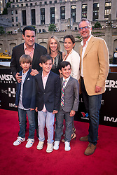 Executive Producer Mark Vahradian and family attends the US Premier of 'Transformers: The Last Knight' on the Chicago River in front of the Civic Opera House on Tuesday June 20, 2017 in Chicago, IL. Photo: Christopher Dilts / Sipa USA *** Please Use Credit from Credit Field ***