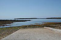 Slipway on Inis Mor Aran Islands County Galway Ireland