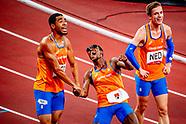 zilveren race mannen estafette tokio 2021