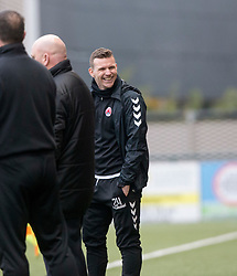 One of Clyde's interim management team JP McGovern. Clyde 2 v 2 Forfar Athletic, Scottish League Two game played 4/3/2017 at Clyde's home ground, Broadwood Stadium, Cumbernauld.