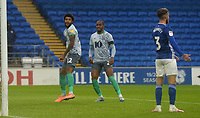 Blackburn Rovers' Dominic Samuel celebrates scoring his side's second goal <br /> <br /> Photographer Ian Cook/CameraSport<br /> <br /> The EFL Sky Bet Championship - Cardiff City v Blackburn Rovers - Tuesday 7th July 2020 - Cardiff City Stadium - Cardiff <br /> <br /> World Copyright © 2020 CameraSport. All rights reserved. 43 Linden Ave. Countesthorpe. Leicester. England. LE8 5PG - Tel: +44 (0) 116 277 4147 - admin@camerasport.com - www.camerasport.com