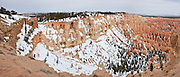 USA, Utah, Bryce Canyon National Park, Bryce Canyon from Bryce Point, Digital Composite Panorama