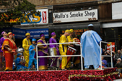 California: San Francisco Carnaval festival parade in the Mission District. Photo copyright Lee Foster. Photo # 30-casanf81354