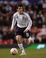 Photo: Paul Thomas.<br /> England v Spain. International Friendly. 07/02/2007.<br /> <br /> Joey Barton of England.