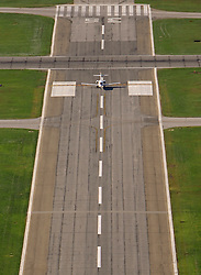 A jet prepares to depart runway 36 at KSBN.<br /> <br /> Photo by Matt Cashore..Use of this image prohibited without authorization and/or compensation..To contact Matt Cashore:.574.220.7288.574.233.6124.cashore1@michiana.org.www.mattcashore.com