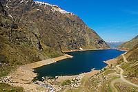 France. Ariege. Lac de Soulcem. //  France. Ariege. Soulcem lake.