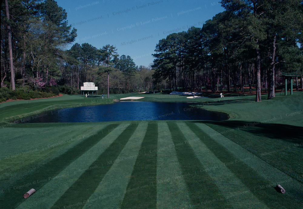 August Golf Course - One of the most difficult par 3's in golf.