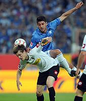Fotball<br /> Tyskland<br /> 25.05.2011<br /> Foto: Witters/Digitalsport<br /> NORWAY ONLY<br /> <br /> v.l. Håvard Nordtveit, Mirkan Aydin (Bochum)<br /> <br /> Bundesliga, Relegation Rueckspiel, VfL Bochum - Borussia Mönchengladbach
