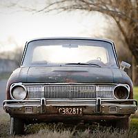 San Antonio de Areco, Argentina 20 August 2009<br /> An old car in San Antonio de Areco, Buenos Aires province.<br /> Photo: Ezequiel Scagnetti