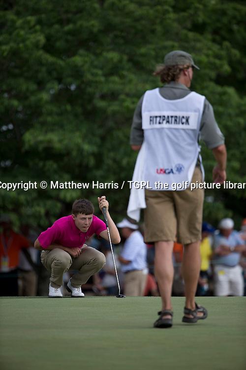 Matthew FITZPATRICK (ENG) during second round US Open Championship 2014,Pinehurst No 2,Pinehurst,North Carolina,USA.