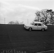 17/3/1966<br /> 3/17/1966<br /> 17 March 1966<br /> <br /> Renault 1100 at speed on Santry Stadium