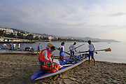 San Remo, ITALY,  Sunday, Pleasure Row and Bach Area. 2008 FISA Coastal World Championships. Sunday 19/10/2008. [Photo, Peter Spurrier/Intersport-images] Coastal Rowing Course: San Remo Beach, San Remo, ITALY
