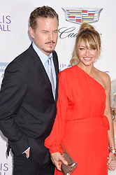 June 13, 2016 - Brentwood, CA, Etats-Unis - BRENTWOOD, CA - JUNE 11: Actor Eric Dane and wife/actress Rebecca Gayheart-Dane arrive at the 15th Annual Chrysalis Butterfly Ball at a private residence on June 11, 2016 in Brentwood, California. (Credit Image: © Visual via ZUMA Press)