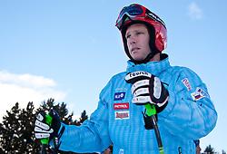 29.12.2010, Pista Stelvio, Bormio, ITA, FIS World Cup Ski Alpin, Men, downhill, im Bild Andrej Jerman (SLO, #7)  bei Streckenbesichtigung. EXPA Pictures © 2010, PhotoCredit: EXPA/ J. Groder