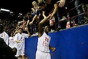 DESCRIZIONE : Milano Eurolega Euroleague 2013-14 EA7 Emporio Armani Milano Olympiacos Piraeus<br /> GIOCATORE : Mohamed Toure Tifosi<br /> CATEGORIA : Ritratto Esultanza<br /> SQUADRA : EA7 Emporio Armani Milano <br /> EVENTO : Eurolega Euroleague 2013-2014<br /> GARA : EA7 Emporio Armani Milano Olympiacos Piraeus<br /> DATA : 09/01/2014<br /> SPORT : Pallacanestro <br /> AUTORE : Agenzia Ciamillo-Castoria/G.Cottini<br /> Galleria : Eurolega Euroleague 2013-2014  <br /> Fotonotizia : Milano Eurolega Euroleague 2013-14 EA7 Emporio Armani Milano Olympiacos Piraeus<br /> Predefinita :