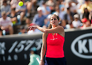 Julia Goerges of Germany in action during her third round match at the 2020 Australian Open, WTA Grand Slam tennis tournament on January 24, 2020 at Melbourne Park in Melbourne, Australia - Photo Rob Prange / Spain ProSportsImages / DPPI / ProSportsImages / DPPI