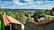 Dobczyce, 2020-05-09. Panorama Dobczyc.